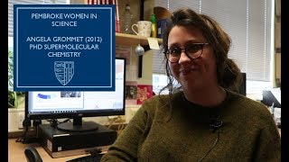 Watch Angela Grommet talking about her PhD research in the Nitschke group