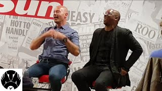 "Shearer X Ian Wright ""Gazza Put Dennis Wise In A Planes Overhead Locker"" 