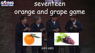 S.Scoup, Seungkwan, Mingyu, DK being extra on Going Seventeen EP.33