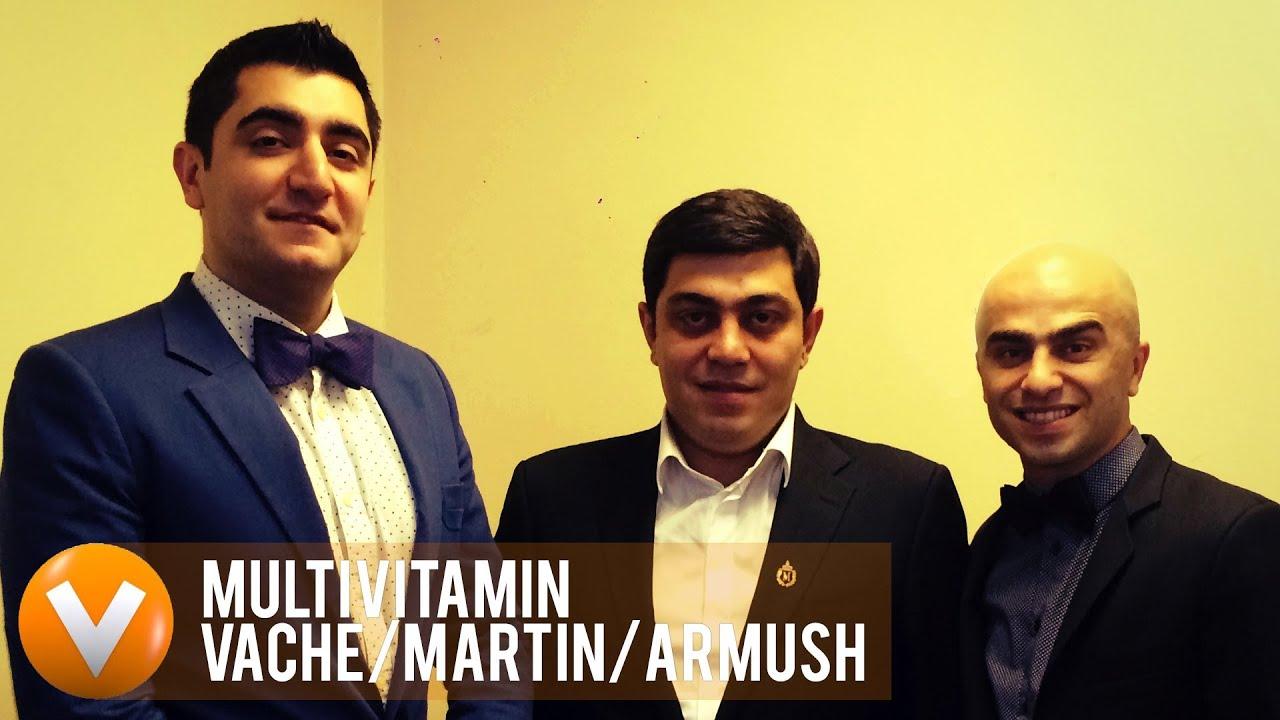 Vitamin Club – Multivitaminner – Vache, Armush, Martin Mkrtchyan