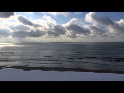 函館津軽海峡の冬