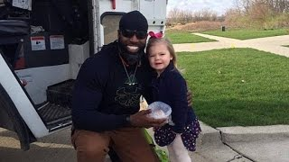 3-Year-Old Girl's Wish Comes True Meeting Garbage Man for Her Birthday