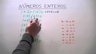 SUMA Y RESTA DE NUMEROS ENTEROS .EJERCICIOS RESUELTOS. - Most ...