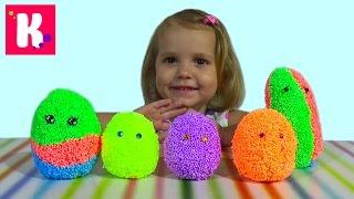 Животные заводные/ сюрприз из шарикового пластилина