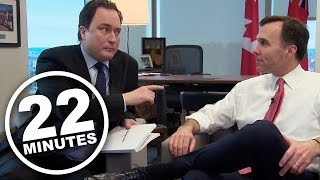 22 Minutes: Morneau Budget Interview