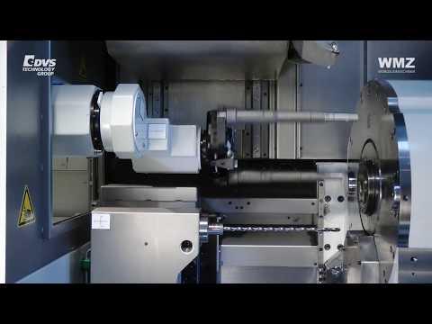 Highly efficient shaft machining in 60 seconds - WMZ Ziegenhain