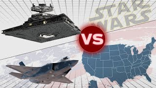 The United States Military vs One Imperial II Star Destroyer | Star Wars: Who Would Win