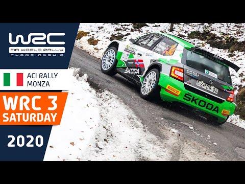 WRC3 第7戦ラリー・モンツァ 土曜日のハイライト動画