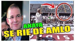 RICARDO ANAYA SE RIE DEL EVENTO VACIO DE AMLO EN VERACRUZ,MÉXICO 2- C0R3A DEL SUR 1
