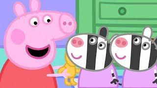 Peppa Pig en Español 🎁 Zaza y Zuzu! | 1 Hora | Pepa la cerdita
