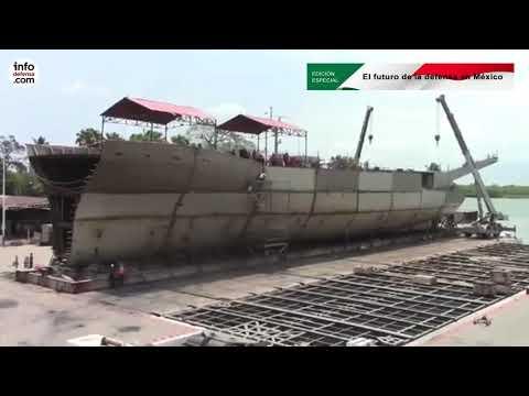 El ambicioso plan de la Marina de México tiene un déficit de 139 millones de dólares