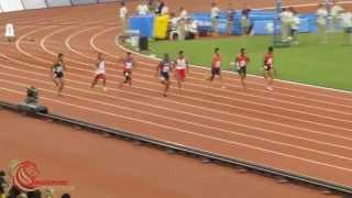 100m Men Final  - 2015 SEA Games