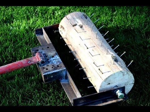 DIY | How To Make A Lawn Roller Aerator