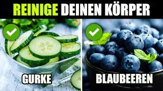 10 großartige Lebensmittel, die deinen Körper auf natürliche Weise reinigen
