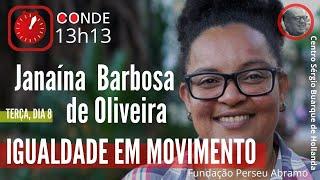 #AOVIVO | Igualdade em movimento, com Janaína Barbosa de Oliveira