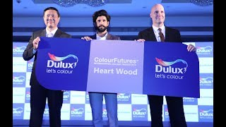 Heart Wood as 2018 Colour of the Year Launch With Farhan Akhtar, Brand Ambassador, Dulux India.