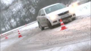 Автоцентр экстремального вождения - репортаж