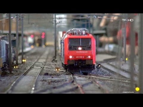 Die riesige Modellbahn des Brugger Modelleisenbahn Clubs -BMC- gigantic model railroad