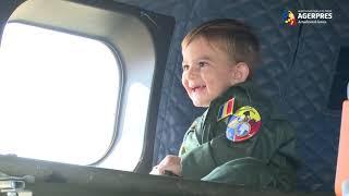 Aeronavele militare, misiune specială de Ziua Porților Deschise la Baza 90 Otopeni
