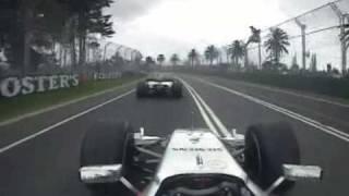 2006 Australian GP- Kimi Raikkonen, Montoya vs Button
