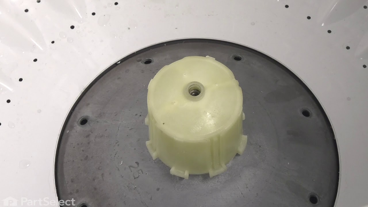 Replacing your General Electric Washer Inner Tub Base Hub