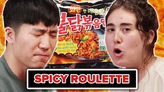 BuzzFeeders Play Truth Or Dare • Spicy Food Edition thumbnail