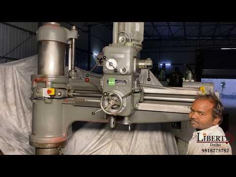 GSP Radial Drilling Machine