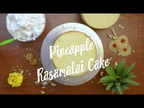 Pineapple Rasmalai