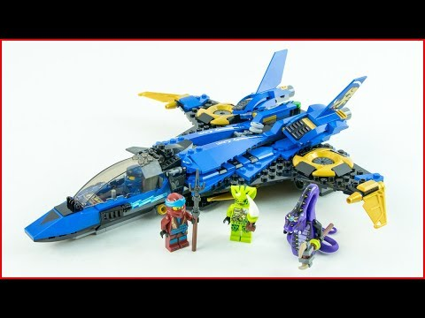 LEGO STAR WARS 70668 Jay's Storm Fighter Construction Toy - UNBOXING