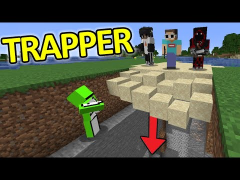 Types of People Portrayed by Minecraft #8