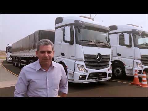 Relembre o teste feito pela equipe do Carro Arretado em caminhão da Mercedes (15.02.20)