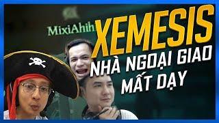 XEMESIS - NHÀ NGOẠI GIAO MẤT DẠY   CƯỚP BIỂN CÙNG MIXI, SNAKE, XEME