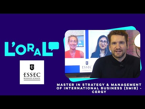 L'oral : MS Strategy and Management of International Business (Smib)