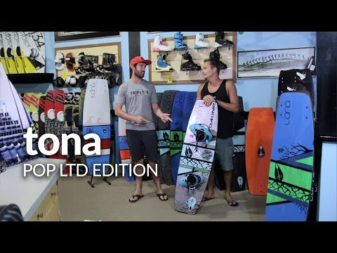 Tona Pop LTD Edition Kiteboard Review with Jake Kelsick