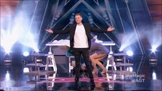 Illusionist Rob Lake Stuns The Judges With His Incredible Magic | America