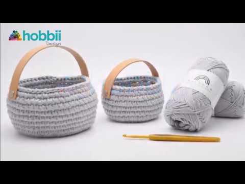 Cotton Paasmandje Patronen Hobbii Hobbiinl