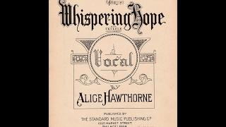 Whispering Hope (1868)