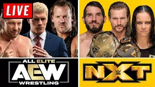 🔴 AEW Dynamite Live Stream & WWE NXT Live Stream October 16th 2019   Full Show Live Reaction