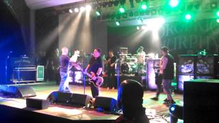 Dropkick Murphys singing contest 8/22/13