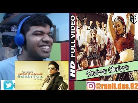 Chaiyya Chaiyya Full Video Song|Dil Se|Shahrukh, Malaika|Reaction & Thoughts(SRK BDAY SPCL)