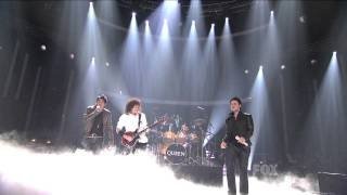Adam Lambert and Queen  -  We Are the Champions  -  Finale  -  20/05/09