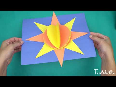 Paper Giraffe Easy Craft For Kids With Reny Educ Tv Educatall
