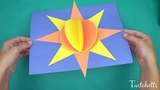 3D Paper Sun