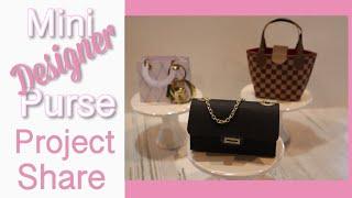 3 Mini Purse Treat Bags | Made With CRICUT EXPLORE AIR2