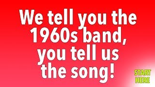 1960s quiz for music lovers