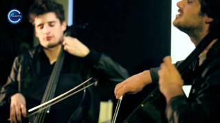 2CELLOS Sulic & Hauser   LIVE 'With or Without You' by U2 HD