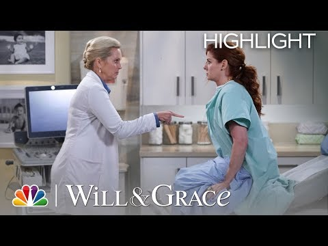 Grace's Insane OB/GYN Visit - Will & Grace