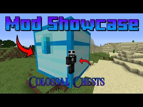 """Minecraft: """"Colossal Chests"""" Mod Showcase"""