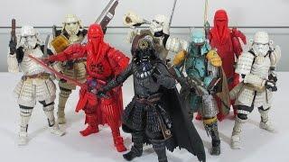 Bandai Tamashii Nations Star Wars Movie Realization collection