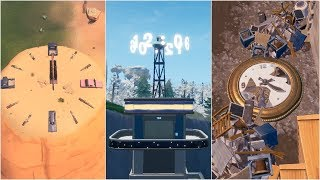 Visit different Clocks Guide (All Clock Locations) - Fortnite Battle Royale